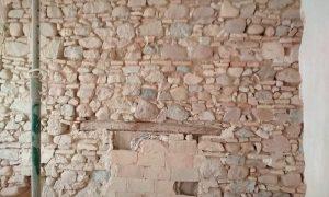 Limpieza muros chorro de arena